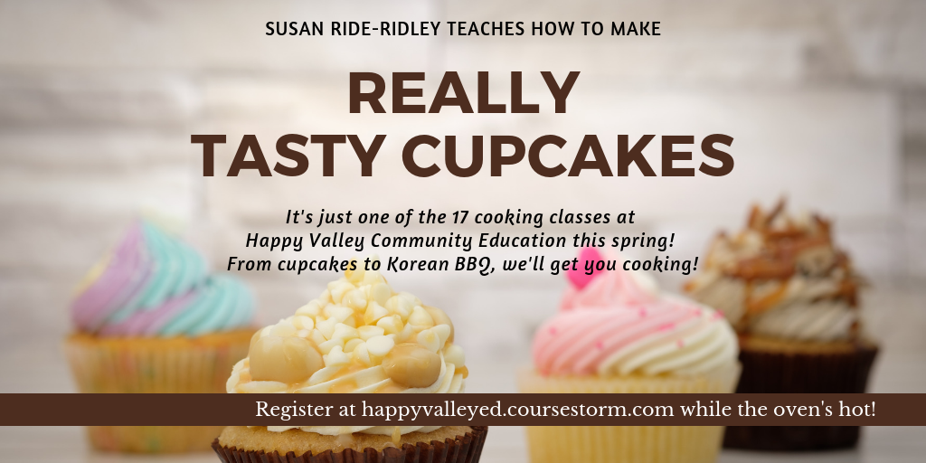 Sample image for a class on making cupcakes.